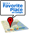 We're a favorite Pittsburgh place on Google.