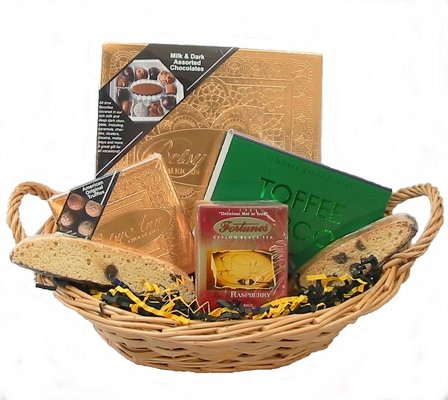 Pittsburgh Chocolate Lover's Basket -A local Pittsburgh florist for flowers in Pittsburgh. PA Click Here For Larger Image. Pittsburgh ...