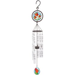 "In Memory 35"" Stained Glass Sonnet Wind Chime -A local Pittsburgh florist for flowers in Pittsburgh. PA"