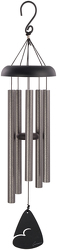 Pewter Fleck Wind Chime, 30