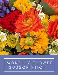 Flower Subscription -A local Pittsburgh florist for flowers in Pittsburgh. PA