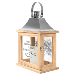 Hearts Forever Memorial Lantern  -A local Pittsburgh florist for flowers in Pittsburgh. PA
