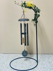 "Lord's Prayer Wind Chime, 30"" -A local Pittsburgh florist for flowers in Pittsburgh. PA"