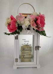 Memory Treasure Memorial Lantern -A local Pittsburgh florist for flowers in Pittsburgh. PA