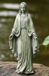 Mary Statue -A local Pittsburgh florist for flowers in Pittsburgh. PA
