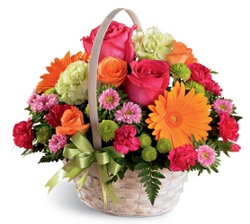 Summer in the Park Basket -A local Pittsburgh florist for flowers in Pittsburgh. PA