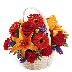 Fun in the Sun Basket -A local Pittsburgh florist for flowers in Pittsburgh. PA