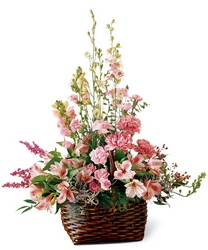 Exquisite Memorial Basket -A local Pittsburgh florist for flowers in Pittsburgh. PA