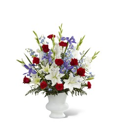 Cherished Farewell Arrangement -A local Pittsburgh florist for flowers in Pittsburgh. PA