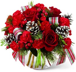 Christmas Peace Bouquet -A local Pittsburgh florist for flowers in Pittsburgh. PA