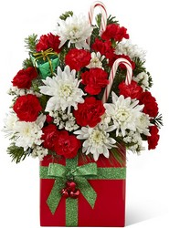 Peppermint Present Bouquet