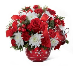 Season's Greetings Bouquet -A local Pittsburgh florist for flowers in Pittsburgh. PA