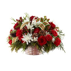 Goodwill & Cheer Basket -A local Pittsburgh florist for flowers in Pittsburgh. PA