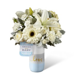 Sweet Baby Boy Bouquet by Hallmark -A local Pittsburgh florist for flowers in Pittsburgh. PA