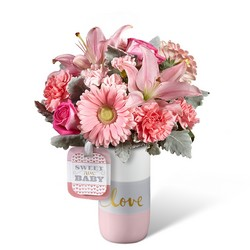 Sweet Baby Girl Bouquet by Hallmark -A local Pittsburgh florist for flowers in Pittsburgh. PA