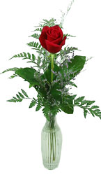 Single Rose Bud Vase -A local Pittsburgh florist for flowers in Pittsburgh. PA
