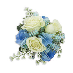 Caribbean Wrist Corsage -A local Pittsburgh florist for flowers in Pittsburgh. PA