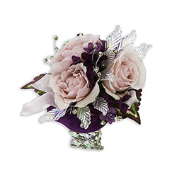 Shimmer Wrist Corsage -A local Pittsburgh florist for flowers in Pittsburgh. PA