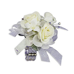 Simple Elegance Wrist Corsage -A local Pittsburgh florist for flowers in Pittsburgh. PA