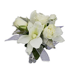 Elegance Wrist Corsage -A local Pittsburgh florist for flowers in Pittsburgh. PA