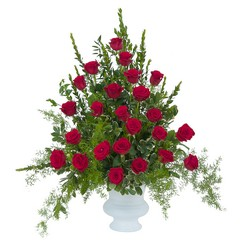 Royal Rose Urn -A local Pittsburgh florist for flowers in Pittsburgh. PA