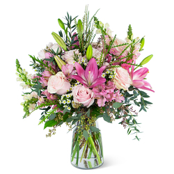 Glorious Pink Meadow -A local Pittsburgh florist for flowers in Pittsburgh. PA